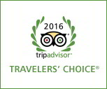 Tripadvisor traveler choice award 2016